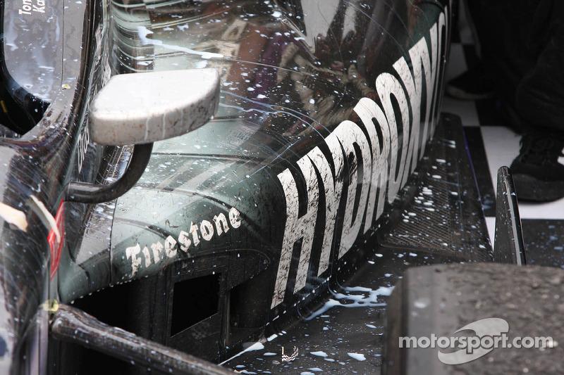 Detalhe de Tony Kanaan, KV Racing Tecnologia Chevrolet