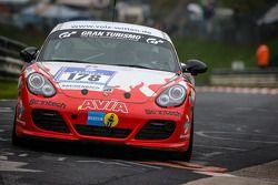 #178 Mathol Racing Porsche Cayman R (V6): Jim Briody, Tanja Nilsson, Jim Michaelian