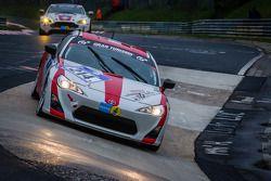 #214 Toyota Swiss Racing Team Toyota GT86 (V3): Olivier Burri, Christoph Wüest, Andreas Lanz, Jeffre