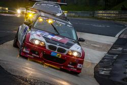 #86 Hofor-Racing BMW M3 CSL SMG (SP6): Martin Kroll, Chantal Kroll, Michael Kroll, Richard Feller