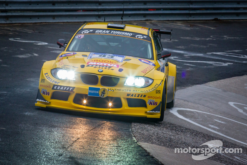#93 MSC Rhön e.V. im ADAC BMW E82 M Coupé (SP5): Pierre de Thoisy, Philippe Haezebrouck, Maurice Maxence