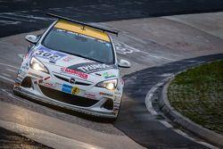 #302 Lubner-Motorsport Opel Astra OPC Cup (Cup 1): Axel Jahn, Marcel Hartl, Matthew McFadden