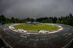 #91 BMW Z4 E86 (SP6): Dominique Nury, Philippe Burel, Eric van de Vyver, Guillaume van de Vyver, #52 PoLe Racing Porsche 997 Cup (SP7): Johannes Kirchhoff, Gustav Edelhoff, Elmar Grimm, Wolfgang Kemper