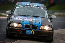 #198 BMW 325i (V4): Kornelius Hoffmann, Peter Hoffmann, Dirk Roth, Steffen Roth