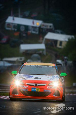 #304 Raceunion Teichmann Racing Opel Astra OPC Cup (Cup 1): Michael Funke, Marcel Hoppe