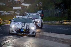 #211 Dörr Motorsport Toyota TMG GT86 Cup (V3): Heiko Hahn, Roland Konrad, Christian Penno, Kristian Vetter