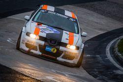 #117 Car Point S Racing-Team Seat Leon Supercopa (SP3T): Daniel Schmieglitz, Uwe Stein