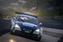 #105 Besaplast Racing Team Audi TT RS (SP4T): Franjo Kovac, Martin Tschornia, Frederik Lestrup