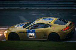 #5 Aston Martin Test Centre Aston Martin Vantage V12 (SP8): Oliver Mathai, Richard Meaden, Peter Cat