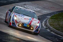 #207 MSC-Rhön e.V. im ADAC Toyota GT86 (V3): Alexander Kudrass, Wolfgang Kudrass
