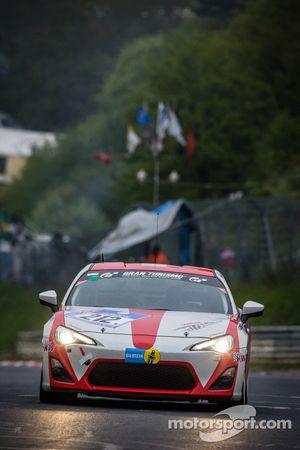 #212 Toyota Swiss Racing Team Toyota GT86 (V3): Frédéric Yerly, Roland Schmid, Benjamin Leuenberger,