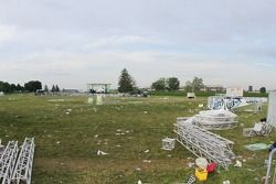There's cleanup to do at the speedway