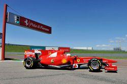 Kamui Kobayashi test de Ferrari F10