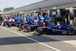 Team West Tech cars
