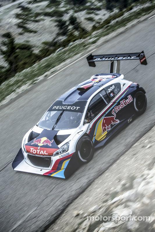 Sébastien Loeb, Peugeot 208 T16