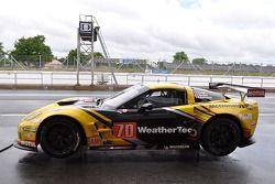 #70 Larbre Compétition Corvette C6.R: Manuel Rodrigues, Cooper MacNeil, Philippe Dumas