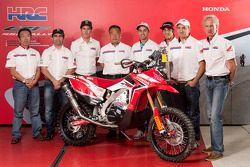 The Honda Racing Team announces driver lineup for 2014 Dakar