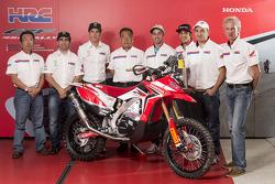 Het Honda Racing Team kondigt de rijders aan voor de 2014-editie van Dakar