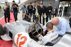 Stirling Moss y Lewis Hamilton