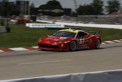 #61 R.Ferri/AIM Motorsport Racing com Ferrari Ferrari 458: Max Papis, Jeff Segal