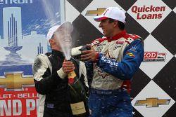 Mike Conway, Dale Coyne Racing Honda et Justin Wilson, Dale Coyne Racing Honda