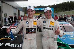 Qualifying: 2nd Marco Wittmann, BMW Team MTEK BMW M3 DTM, 1st Bruno Spengler, BMW Team Schnitzer BMW