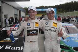 Marco Wittmann, BMW Team MTEK BMW M3 DTM et Bruno Spengler, BMW Team Schnitzer BMW M3 DTM