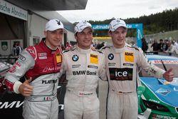 Qualifying, 3rd Edoardo Mortara, Audi Sport Team Rosberg Audi RS 5 DTM, 1st Bruno Spengler, BMW Team