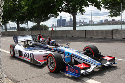 The two-seater IndyCar
