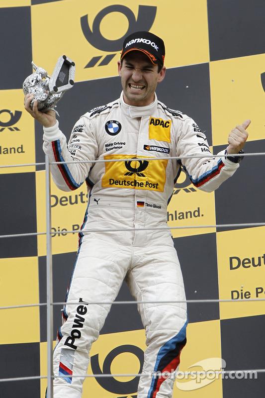 3e plaats Timo Glock, BMW Team MTEK BMW M3 DTM