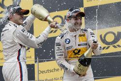 Bruno Spengler, BMW Team Schnitzer BMW M3 DTM et Timo Glock, BMW Team MTEK BMW M3 DTM