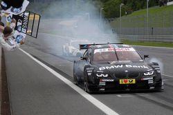 Bruno Spengler, BMW Team Schnitzer BMW M3 DTM takes the win