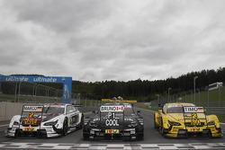 2e Marco Wittmann, BMW Team MTEK BMW M3 DTM, 1er Bruno Spengler, BMW Team Schnitzer BMW M3 DTM, 3e T
