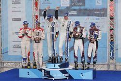 Vencedores Jari-Matti Latvala e Miikka Anttila, Volkswagen Polo WRC, Volkswagen Motorsport, Segundos
