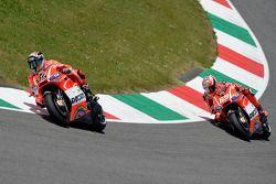 Nicky Hayden, Ducati Team and Andrea Dovizioso, Ducati Team