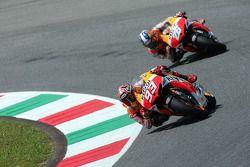 Marc Marquez and Dani Pedrosa, Repsol Honda Team