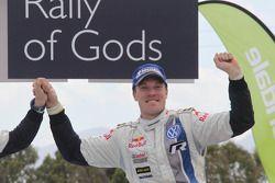 Winner Jari-Matti Latvala, Volkswagen Polo WRC, Volkswagen Motorsport