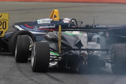 Crash between Tom Blomqvist and Lucas Wolf