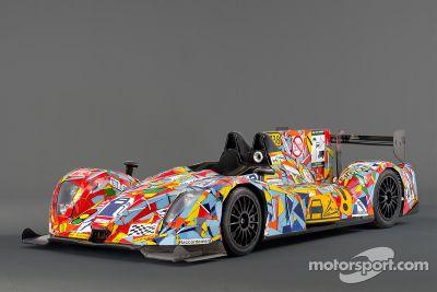 OAK Racing Art Car Unveil