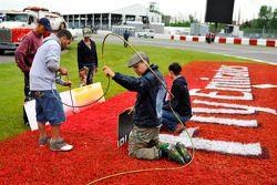 Voorbereiding op het circuit