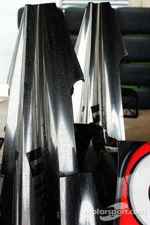 Mercedes AMG F1 W04 bodywork
