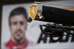 Pit equipment for Ferrari