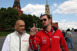 Coletiva, Gabriele Tarquini, Honda Civic, Honda Racing Team J.A.S. e James Thompson, Lada Granta,