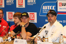 Press conference, Robert Huff, Chevrolet Cruze 1.6T, RML