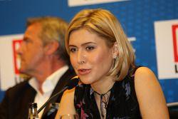 Conferencia de prensa de Ekaterina Beltsevich, Gerente de Proyecto del Circuito