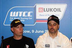 Persconferentie, Robert Huff, Chevrolet Cruze 1.6T, RML
