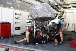 Les mécaniciens de Pepe Oriola, SEAT Leon WTCC, Tuenti Racing