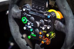 #41 Greaves Motorsport Caterham Motorsport Nissan steering wheel