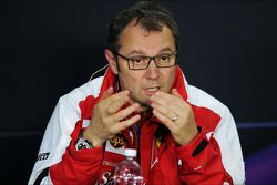 Stefano Domenicali, Ferrari General Director in the FIA Press Conference