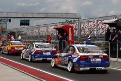 Franz Engstler, BMW E90 320 TC, Liqui Moly Team and Charles Ng, BMW E90 320 TC, Liqui Moly Team Engstler